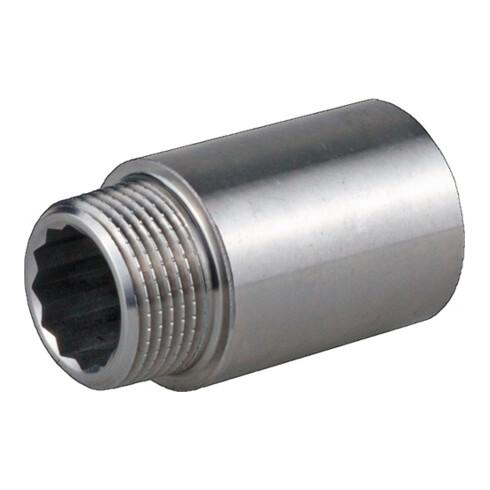 Hahnverlängerung DIN 3523 EN 10226-1 NPS 1/2 Zoll 53mm 13mm 40mm SPRINGER