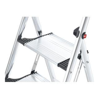 Hailo Aluminium-Klapptritt 3 Stufen 150 kg