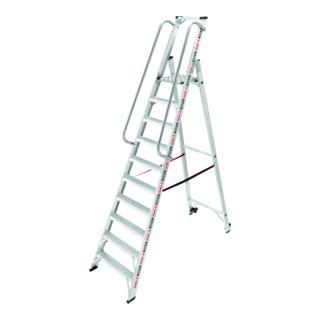 Hailo Plattformleiter ChampionsLine P225 plus 10 Stufen