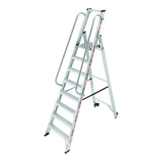 Hailo ChampionsLine P225 plus , Alu-Profi-Plattformleiter 8 Stufen
