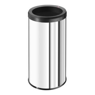 Hailo Großraum-Abfallbox Big Bin Quick 45 Edelstahl