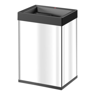 Hailo Großraum-Abfallbox Big Box Quick edelstahl