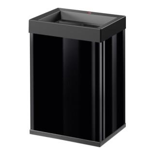 Hailo Großraum-Abfallbox Big Box Quick schwarz