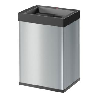 Hailo Großraum-Abfallbox Big Box Quick silber