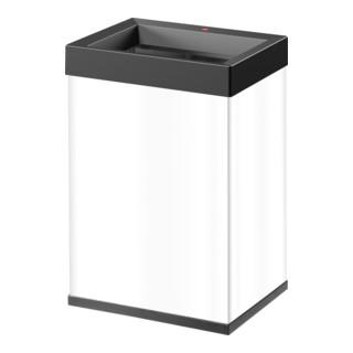 Hailo Großraum-Abfallbox Big Box Quick weiß