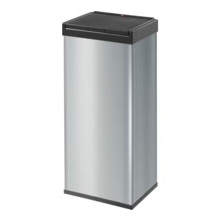 Hailo Großraum-Abfallbox Big Box Touch silber