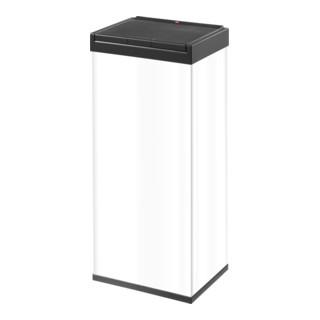 Hailo Großraum-Abfallbox Big Box Touch weiß