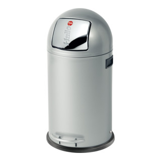 Hailo Großraum-Abfallbox Kick Maxx silber