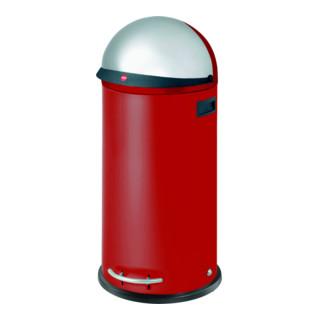 Hailo Großraum-Abfallbox KickVisier 50 rot