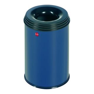Hailo Flammenlöschender Papierkorb ProfiLine Safe blau