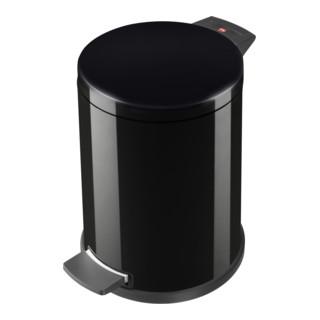 Hailo Tret-Abfallsammler ProfiLine Solid schwarz