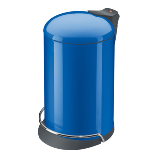 Hailo Tret-Abfallsammler ProfiLine Solid Design enzianblau