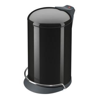 Hailo Tret-Abfallsammler ProfiLine Solid Design tiefschwarz
