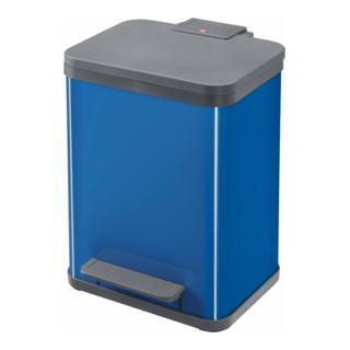Hailo Tret-Abfallsammler ProfiLine Solid Öko enzianblau