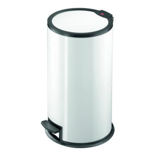 Hailo Tret-Abfallsammler T3 weiß