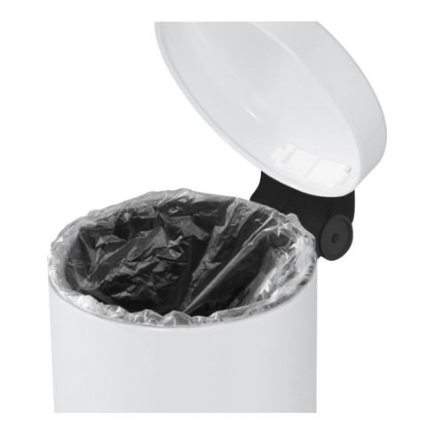 Hailo Tret-Kosmetikeimer ProfiLine Solid 4 weiß
