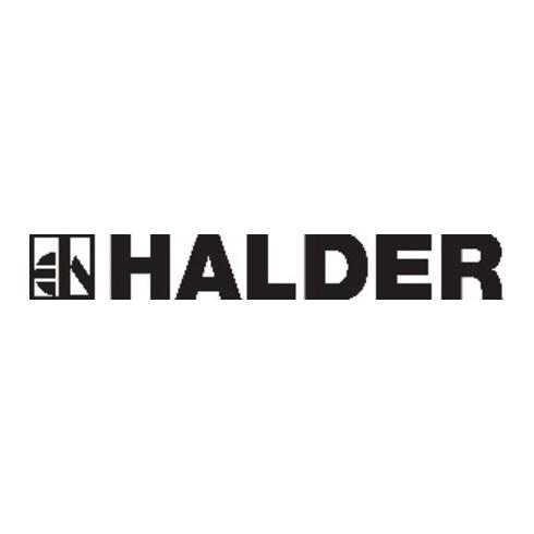 Halder Klopfer L.150mm Kopf-D. 20mm rückschlagfrei Nyl.weiß hart