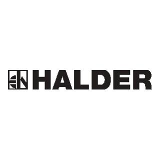 Halder Schonhammer Simplex EH-3026, Gummi- + Kunststoffeinsatz