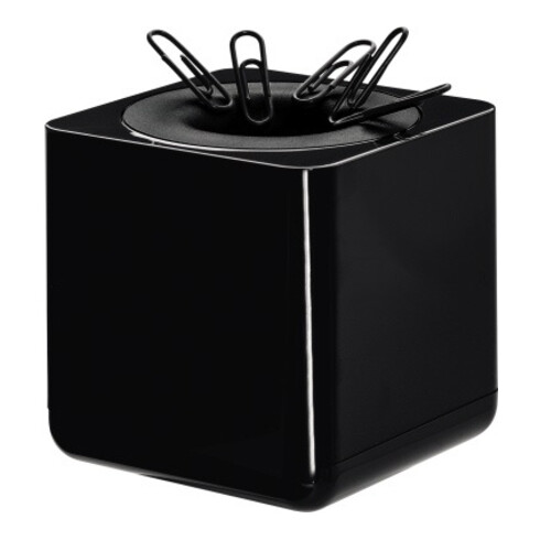 HAN Klammerspender i-Line 17652-13 70x70x70mm magnetisch schwarz