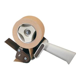 Handabroller für Größen bis 66mx50mm Kunststoff mit Rollbremse