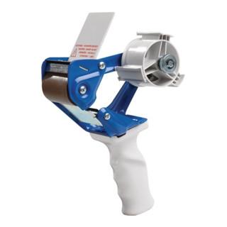 Handabroller für Größen bis 66mx50mm Metall mit Rollbremse