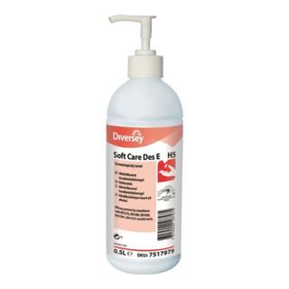 Handdesinfektionsgel Soft Care Des E 0,5 l alkoholisch DIVERSEY
