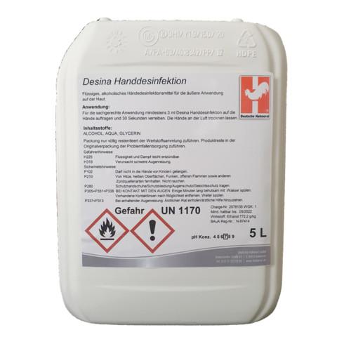 Handdesinfektionsmittel, Inhalt: 5000 ml