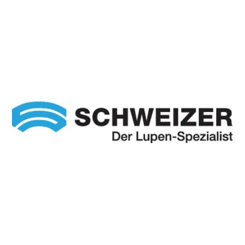 Handleuchtlupe Tech-Line CLASSIC Vergr.4x LED Linsen-D.55,0mm SCHWEIZER