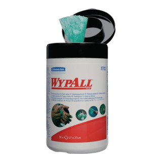 Handreinigungstuch WYPALL 7772 o.Eins.v.Wasser 50 St.1 Dose Kimberly Clark