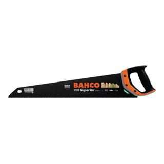 Handsäge Superior Blatt-L.550mm 9/10 BAHCO m.Ergo-Griff