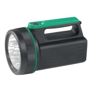 Handscheinwerfer m.8 LEDs aus Kunstst. mattschwarz