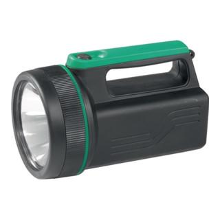 Handscheinwerfer m.Krypton Glühlampe f. 6Volt Blockbatterie mattschwarz
