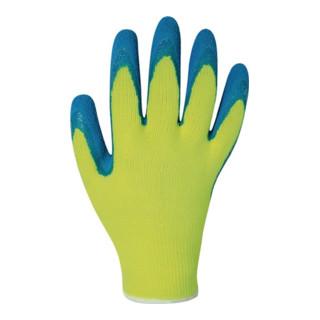 Nordwesr Handschuh Harrer Latex schrumpfgeraut blau