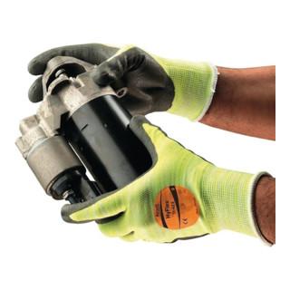 Ansell Handschuhe EN388/407 Kat. II HyFlex 11-423 Strick mit PU-/Nitril