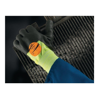 Ansell Handschuhe EN388/407 Kat. II HyFlex 11-427 Strick mit PU-/Nitril