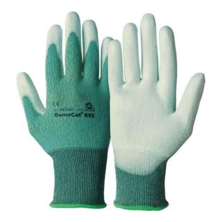KCL Handschuhe DumoCut 655 grün/blau/weiß PU-Innenhandbeschichtung