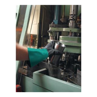 Ansell Handschuhe EN388/374 Kat. III AlphaTec 58-530 Acryl mit Nitril schwarz/weinrot