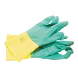 Handschuhe EN388/421/374 Kat.III Bi-Colour 87-900 Gr. 9,5-10 BW Latex Neopren