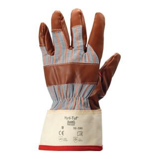 Handschuhe EN388/511 Kat.II Winter Hyd-Tuf 52-547 Gr.10 BW-Jersey m.Nitril braun