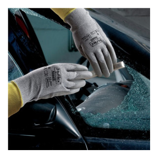 Ansell Handschuhe EN388 Kat. II HyFlex 11-627 Nylon Lycra Dyneema mit PU grau