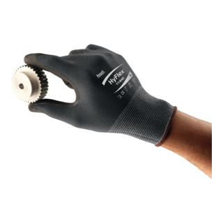 Ansell Handschuhe HyFlex 11-840 Nylon mit Nitrilschaum schwarz
