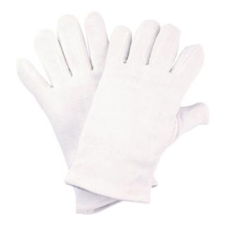Handschuhe Gr.11 weiß Baumwoll-Trikot Kat.I NITRAS