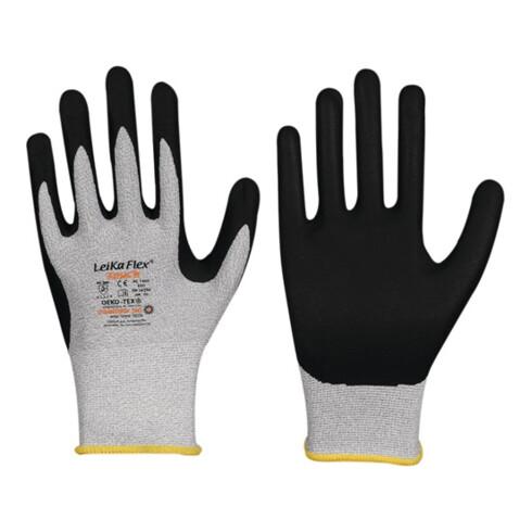 Handschuhe LeikaFlex® Touch 1464 Gr.8 grau/schwarz EN 388 PSA II 12