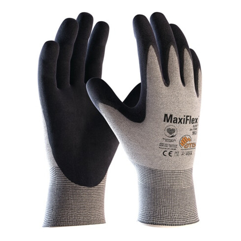 Handschuhe MaxiFlex® Elite™ 34-774B Gr.10 grau/schwarz 12 PA