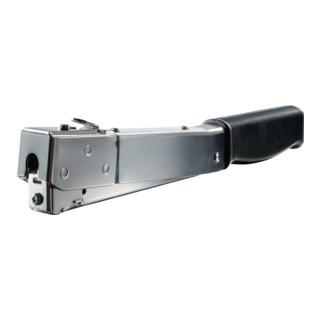 Handtacker J-032G mittelschwer f.Klammer-L.10mm NOVUS m.Ergo-Griff