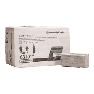 Handtuch Scott 6810 2-lagig weiß L330xB250ca.mm 20 Päckchen x140 Tü.