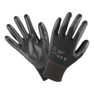Montagehandschuhe Padua Black Größe 8, Nylon