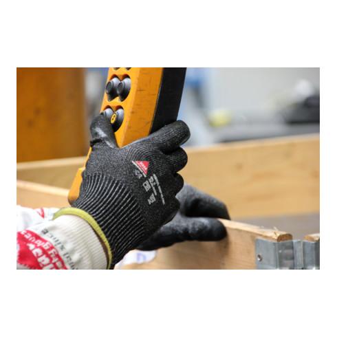 Hase Schnittschutzhandschuhe Genua Grip Black HPPE und Glasfaser