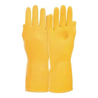 KCL Handschuhe Super Naturlatex velourisiert gelb