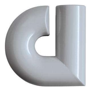 Hausnummer Buchstabe a Spezial-Polyamid 97 lichtgrau 88,3mm D.33mm HEWI